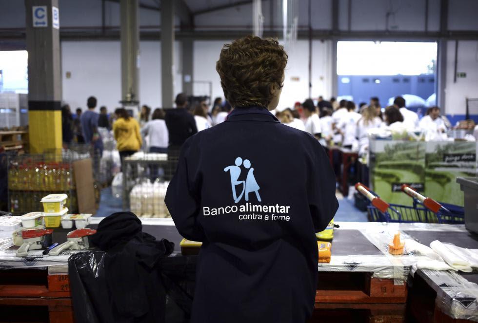 Foto Lusa, Banco Alimentar Contra a Fome