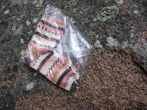 Earthquake damage and socks