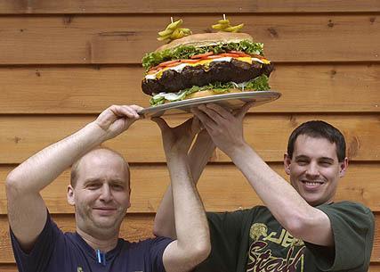 Homens tem apetência por alimentos pesados
