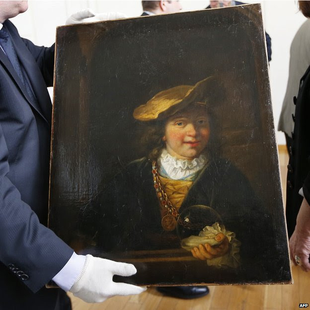 Rembrandt's painting Child with a Soap Bubble