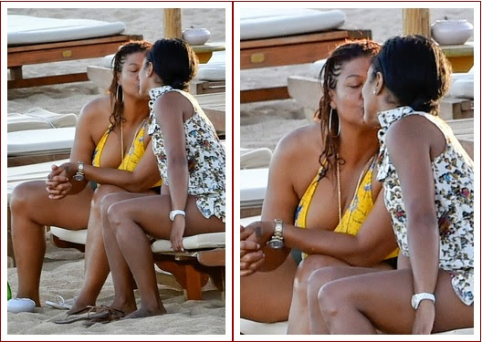 a1 Queen Latifah Photographed Kissing Her Girlfriend (Photos)