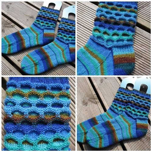 April circle socks