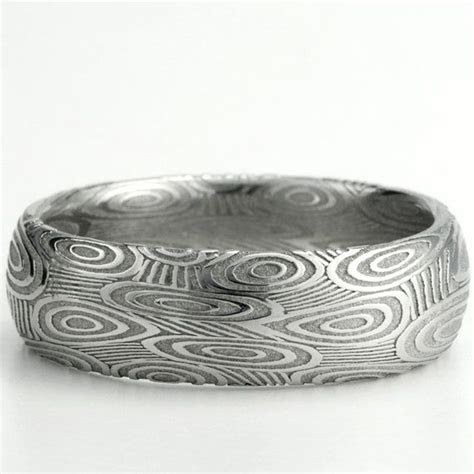 39 best images about Mokume Damascus Steel Wedding Bands