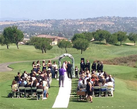 Golf Course Country Club Wedding Ceremony   Arrowood Golf