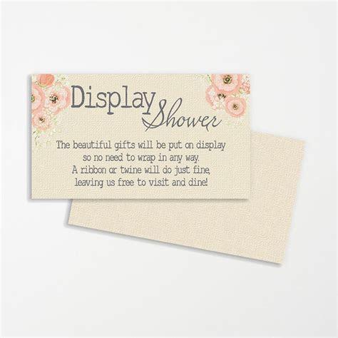 Display Shower Wedding Printable Printable Bridal Display