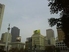 Union Square skyline