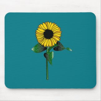 SunFlower on Mousepad