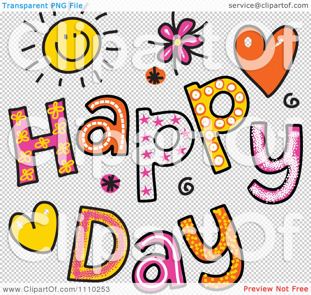 25 Happy Day Clipart Clipartlook