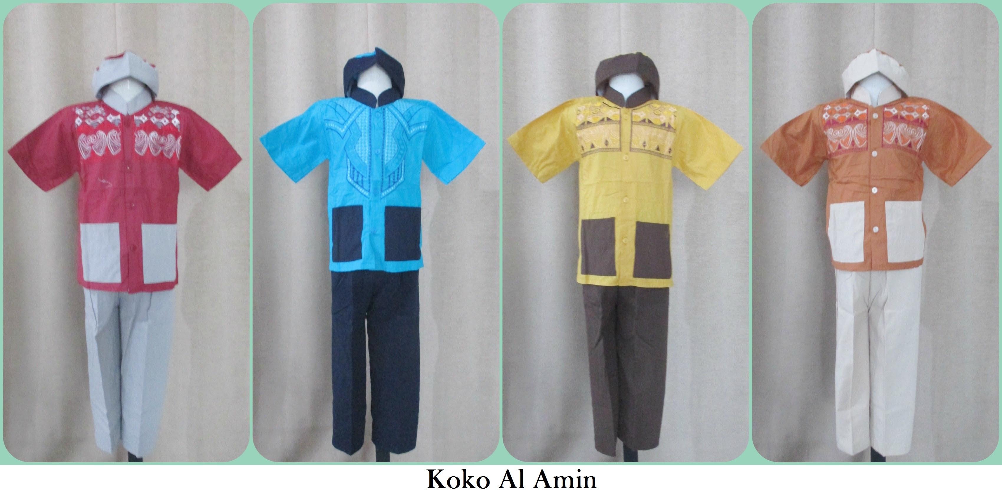 grosir baju muslim anak di yogyakarta