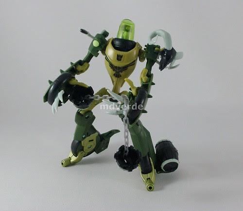 Transformers Oilslick Animated Deluxe - modo robot