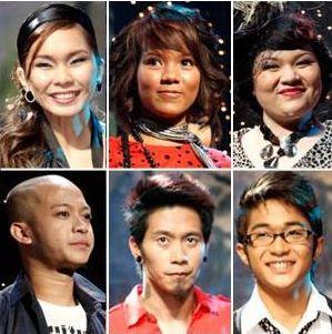 Pinoy Idol finalists
