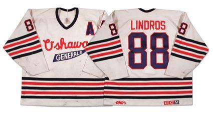 1990-91 Oshawa Generals jersey