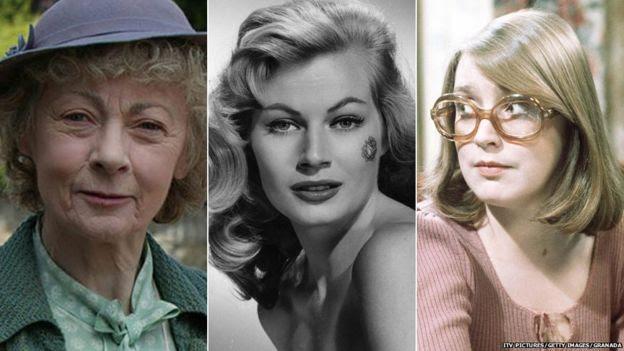 Geraldine McEwan, Anita Ekberg, Anne Kirkbride
