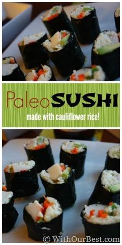 Paleo Sushi Recipe & Asian Barbeque Ideas #MC Sponsored ...
