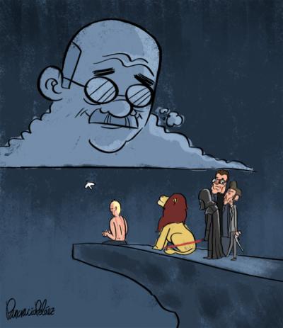 callaitomaswapito:  ¿Por qué la gente es tan grande y rápida a la vez? :) Pancracio Peláez está en twitter. Gran dibujante y muy emotivo su homenaje a Constantino Romero