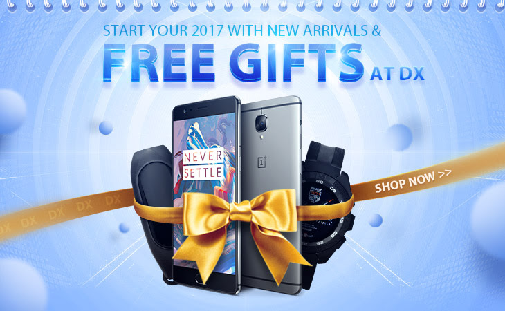 start 2017 with free gifts