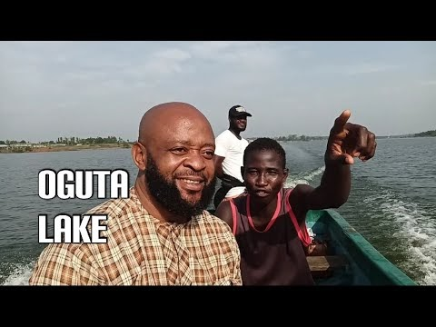 The confluence of Oguta lake