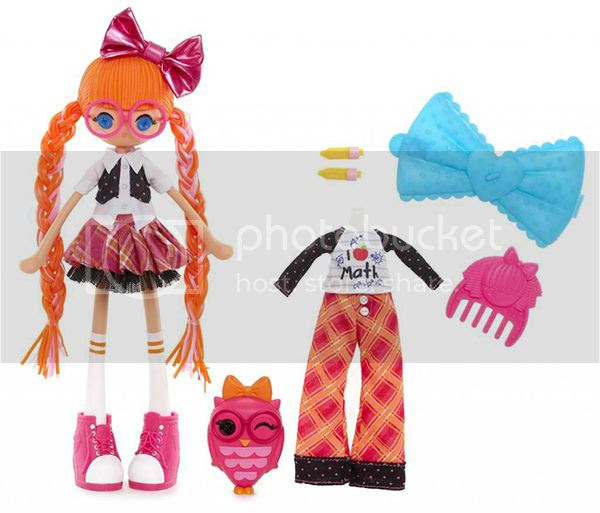 Lalaloopsy Girl's Bea Spells-a-Lot Doll