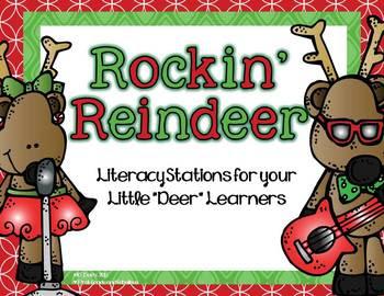 http://www.teacherspayteachers.com/Product/Rockin-Reindeer-Literacy-Stations-for-Your-Little-Deer-Learners-1022031