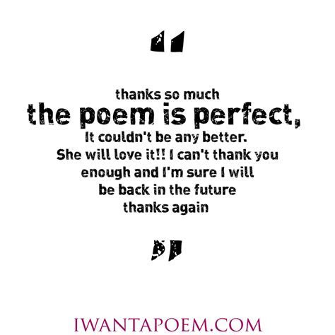Personalised Poems ? I Want A Poem