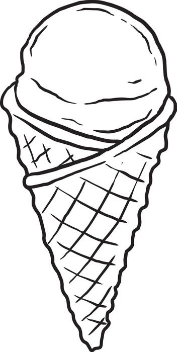 Printable Ice Cream Coloring Pages Coloringmecom