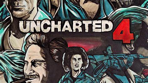 uncharted   thiefs  artworkdrawing fan art