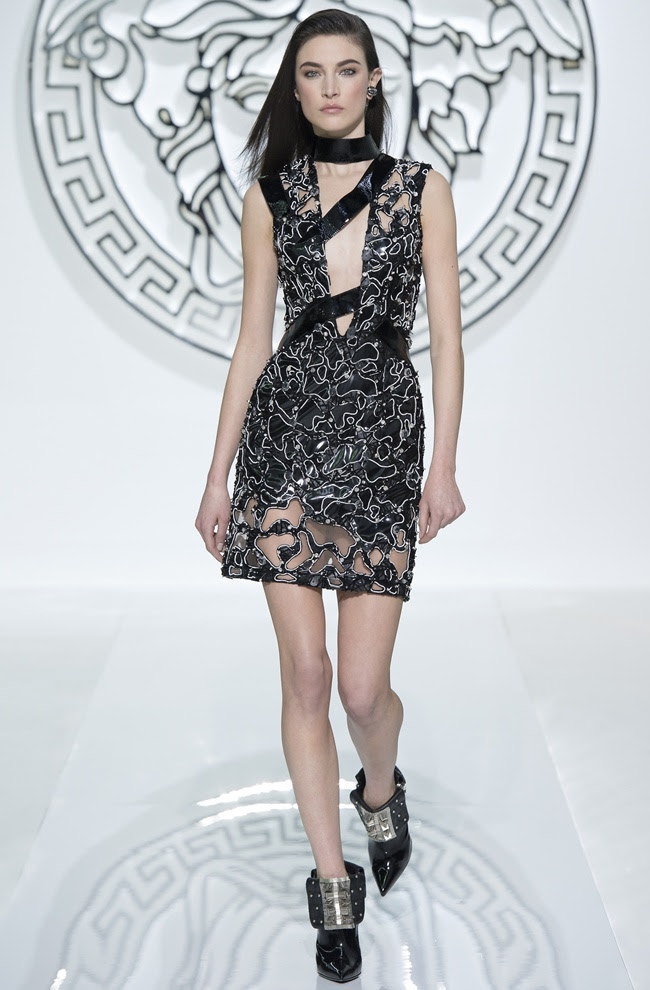 dress7 VERSACE Women's FW1314