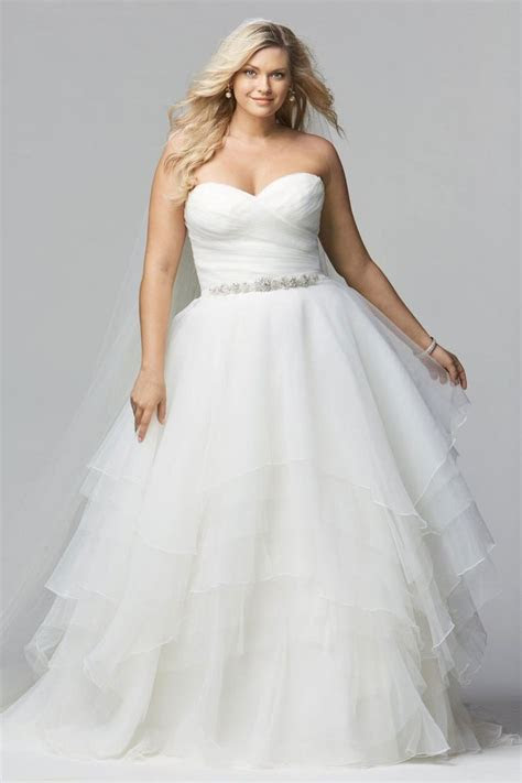 Affordable Wedding Dresses for Plus Size Women 2018 ? Plus