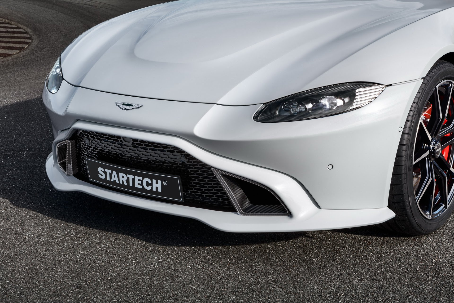 2019 Startech Aston Martin Vantage Headlight Wallpapers 6 Newcarcars