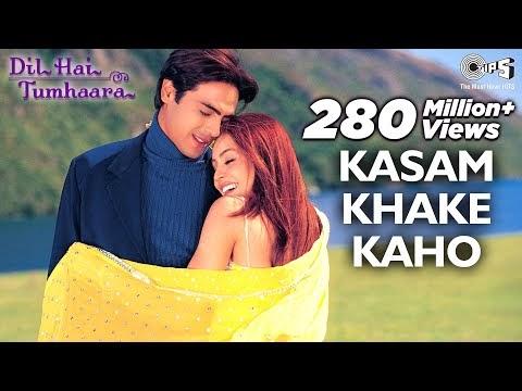 Kasam Khake Kaho Song Lyrics | Dil Hai Tumhaara | Preity, Arjun & Mahima | Kumar Sanu, Alka Yagnik |