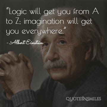 Imagination Albert Einstein Picture Quote