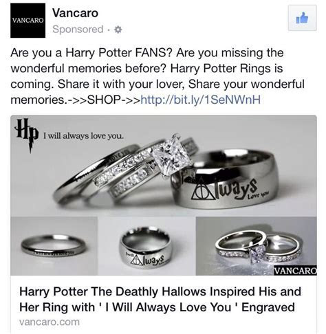 Harry Potter engagement rings   Someday   Harry potter