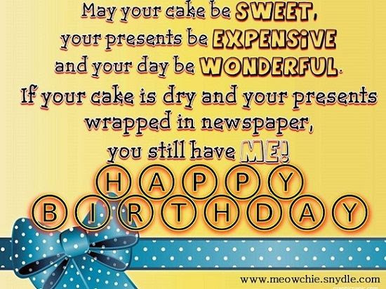 Cute Funny Birthday Quote Pictures Photos And Images For Facebook