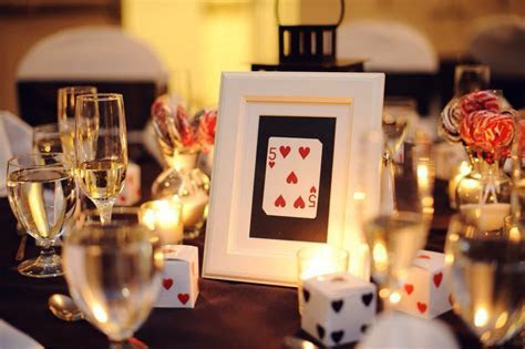 Casino theme wedding reception   Wedding ideas   Casino