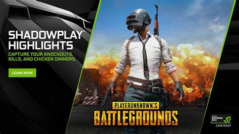 pubgnvidiashadowplay highlights game
