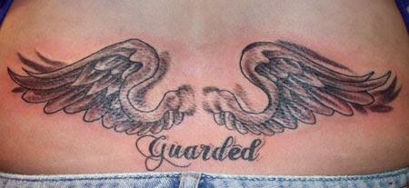 Integratrcom Body Tattoo Ideas Angel Wing Lower Back Tattoo
