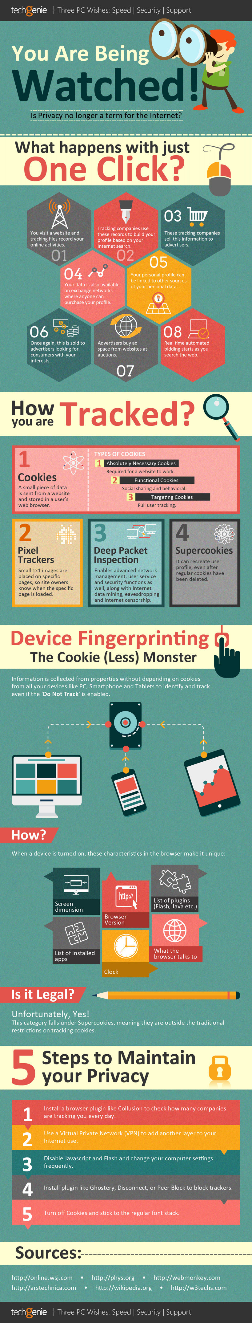 Infographic: Is Privacy no Longer a Term for the Internet? #infographic