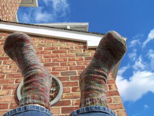 Plain and Fancy socks