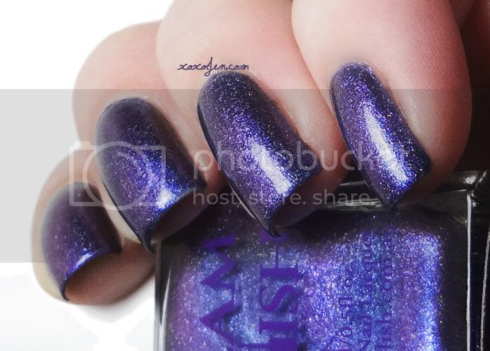 xoxoJen's swatch of Glam Polish Isengard