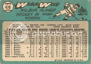 #478 Wilbur Wood (back)