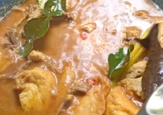Resep Mudah Gulai Ayam Suwir - Tahu Gampang Banget