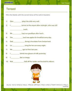 New 559 Tenses Worksheet Class 6 Tenses Worksheet