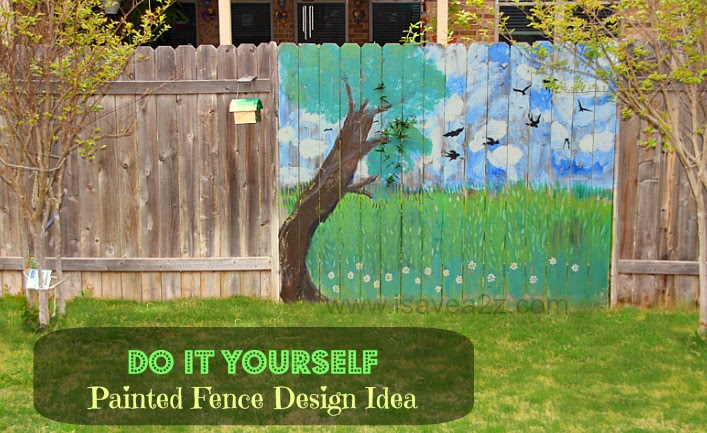Painted Fence Idea