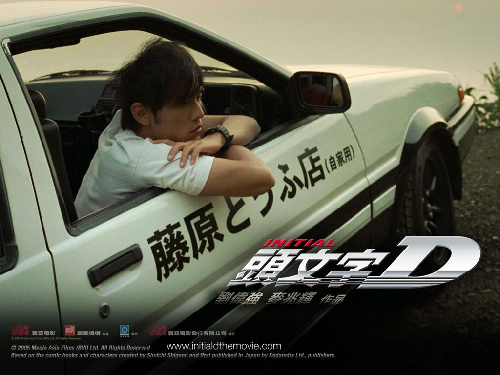 桌布天堂 頭文字d電影桌布 Initial D The Movie12