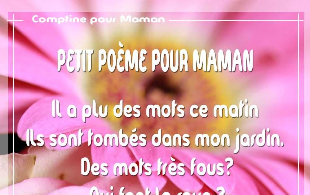 Poesie Pour Anniversaire De Maman Chantay