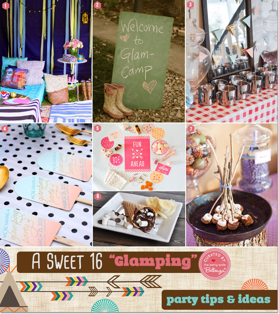 Sweet 16 Glamping 12 Cool Ways To Host A Camp Themed Sleepover