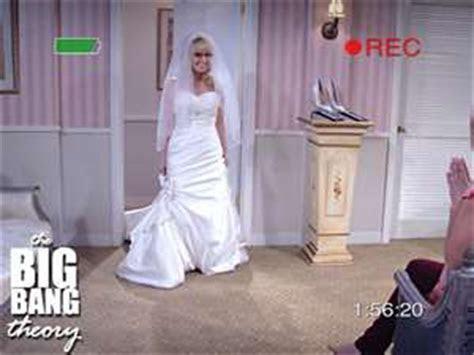 Image   Bernadette in a wedding dress   The Big Bang