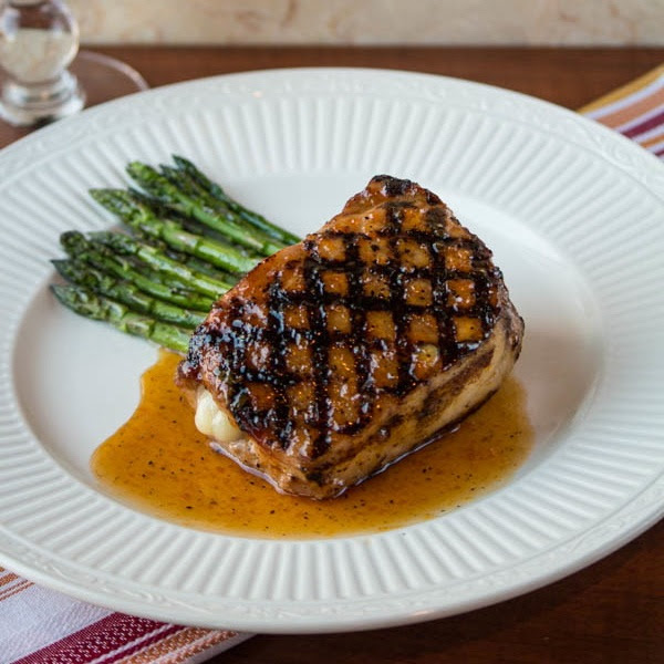 Apricot-Glazed Pork Chops | Two in the Kitchen