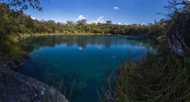 Panoramica del Cenote Candelaria Huehuetenango