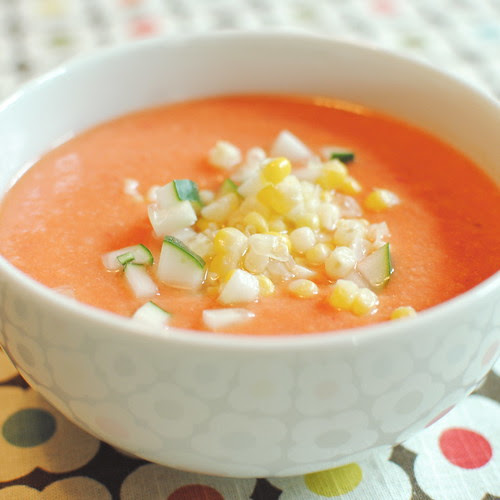 Sweet Corn Gazpacho